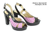 Босоножки на каблуке оптом., фото 1