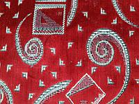 Обивочная ткань шпигель «Карнавал бордо»