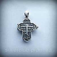 Крестик - мощевик из серебра 925 пробы от производителя в Харькове