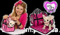 Мягкая игрушка собачка Chi Chi Love Чихуахуа Розовая мечта, с сумочкой и ковриком, 20 см, 5899700
