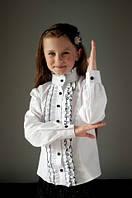 Шикарные блузы для девочек в школу