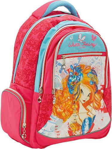 Рюкзак школьный подростковый Winx YES! 552294 розовый