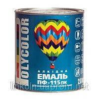 Эмаль Polycolor ПФ-115 50 кг фисташковая, завод Поликолор