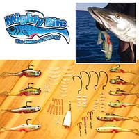 MightyBite набор снастей для рыбной ловли Майте Байт FM