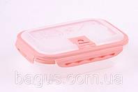 Контейнер пластиковый герметичный прямоугольный 1,9 л для хранения продуктов Fissman (VC-6.753.1.9)