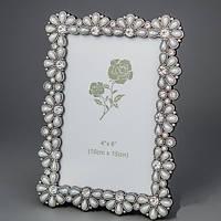 """Стильные рамки для фотографий """"Жемчужные цветы"""" (13*18, ф - 10*15 см) свадебные подарки"""