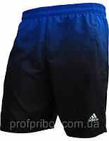Мужские шорты Adidas из плащевки без подкладки, спортмастер V-M-SH-24