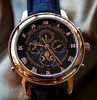 Мужские наручные часы под золото Patek Philippe Sky Moon 27