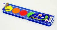 Краски акварельные ЛУЧ 6 цветов флюорисцентные