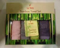 Набор бамбуковых полотенец Le Vele