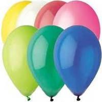 Шары надувные разноцветные 50 в упаковке