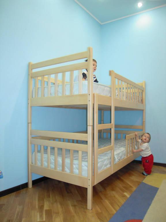 Двоярусні ліжка львів матраци