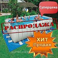 Каркасный бассейн Intex Rectangular Ultra Frame Pool 732 x 366 x 132 см ,  54984