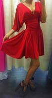 Платье с глубоким вырезом-декольте