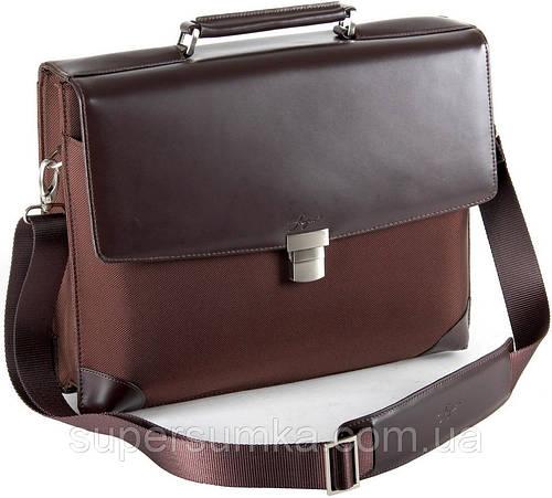 Классический, деловой портфель Fouquet NBC-1002M Brown