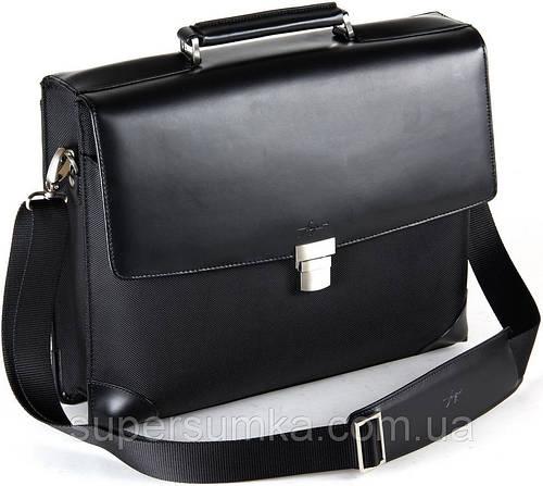 Классический, деловой портфель Fouquet NBC-1002M Black