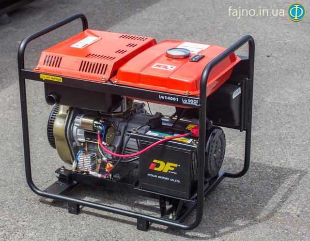 Дизельный генератор KJ Power KDE 6500E фото 1