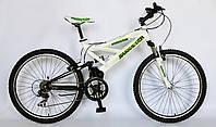 Велосипед горный MTB, Barracuda 1104, двухподвесный, 21 скорость.
