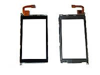 Сенсорный экран для Nokia X6 Лучшая копия  Чёрный