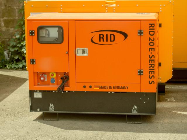 Дизельный генератор RID 20 E-series S  фото 1