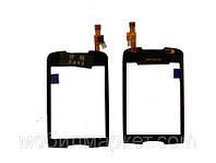 Сенсорный экран для Samsung s5570 Лучшая копия  Чёрный