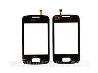Сенсорный экран для Samsung S6102 Galaxy Оригинал Чёрный