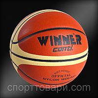М'яч баскетбольний Winner Champion Conti № 7 з мат. Композит Top Qwalitti