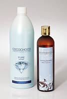 Бразильский кератин для волос Cocochoco Pure 1000мл+технический шампунь для волос Cocochoco 400мл