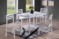 Набор столовой мебели ( стол+ 4 стула)