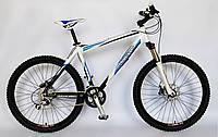 Велосипед VODAN BARRACUDA 1106, горный, рама алюминий, одноподвесный с дисковыми тормозами