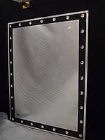 Зеркало 600*800 мм с черным кантом и декором Lezzer 2098