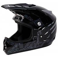 Кроссовый шлем детский Nitro CLAW JNR BLK/GUN/GREY