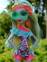 Кукла Monster High Lagoona Blue Swim Doll Лагуна Блю Пляжные куклы