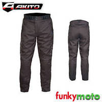 Мотоштаны Akito PYTHON PANTS BLACK