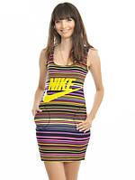 Платье-туника с надписью