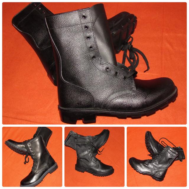 Армейские ботинки и платье
