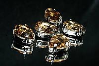 Пришивные камни в цапах  - Капля
