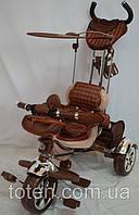 Детский трехколесный велосипед резиновые надувные Lexus Trike KR 01A