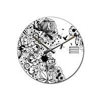 Часы Настенные Современные Муаровый узор Muar