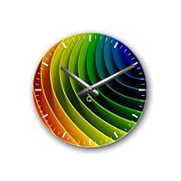 Часы Настенные Декоративные Цветной спектр Spectrum