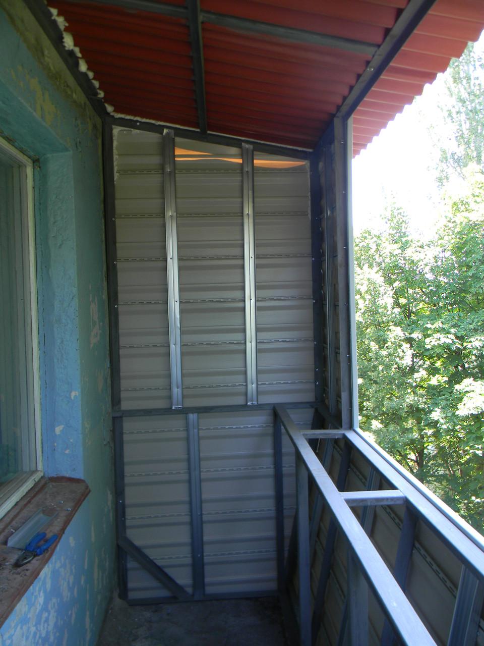 Балкон качественно под ключ запорожье, цена 5 000 грн., зака.