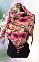 Косынка женская шёлковая