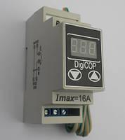 Цифровой терморегулятор мтр-2 на 16 а из серии digicop с широким температурным диапазоном (din-рейка)