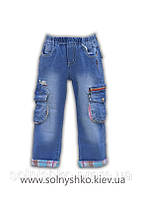 Брюки - джинсы для мальчика 6662