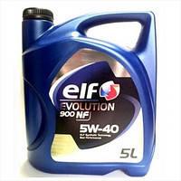 Моторное масло ELF Evolution 900 SXR 5W40 5л