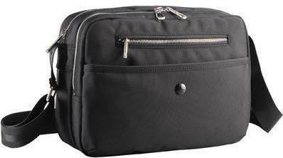 Молодежная женская сумка на плечо Sumdex HPA-560 черная; красная