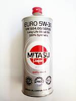 Масло моторное Mitasu Euro Diesel Oil Long Life 5W-30 100% Synthetic 1лит. (банка)