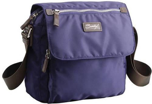 Городская, повседневная сумка через плечо Sumdex NOA-709 сиреневая; красная