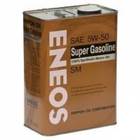 Масло моторное Eneos Super Gasoline SM 5W-50 4лит. (банка)