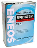 Масло моторное Eneos Super Touring API CI-4 10W40 4лит. (банка)